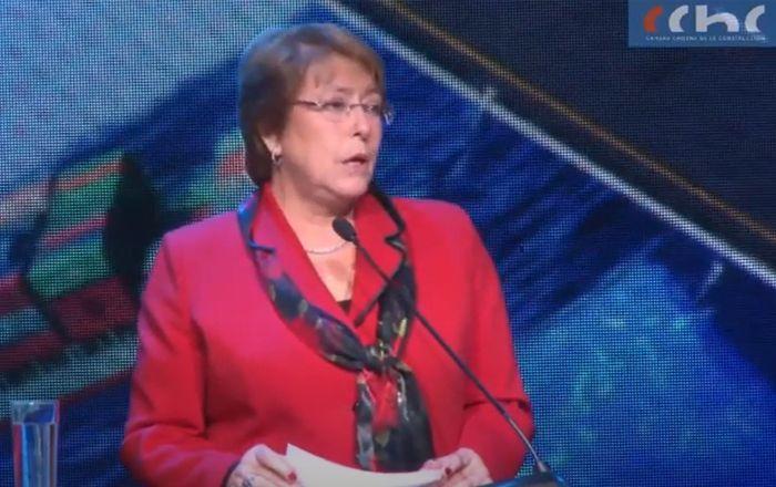 Desayuno de la Construcción - Michelle Bachelet Presidenta de la República